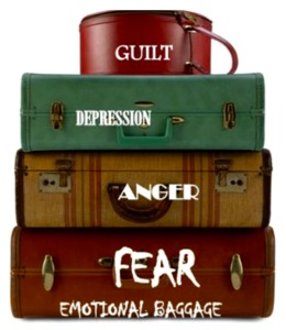 Emotional baggage trunk