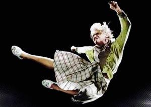 Granny kick