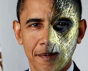 Obama reptialian