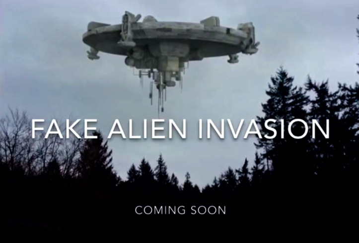 Image result for faking an evil alien invasion