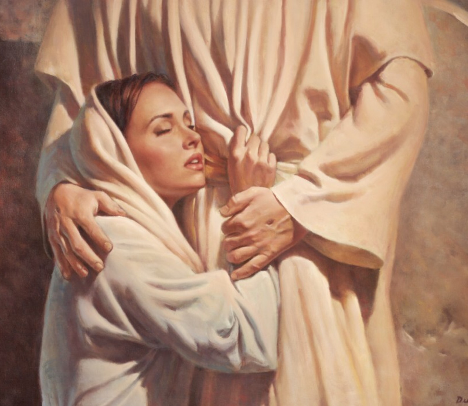 Image result for prophetic art cleave to Jesus
