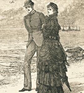 Victorian man woman