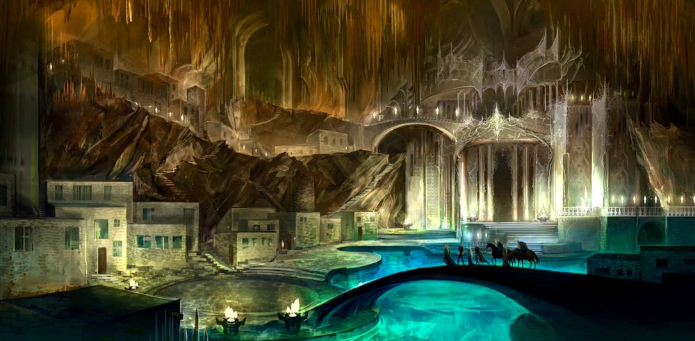 Mountain underground