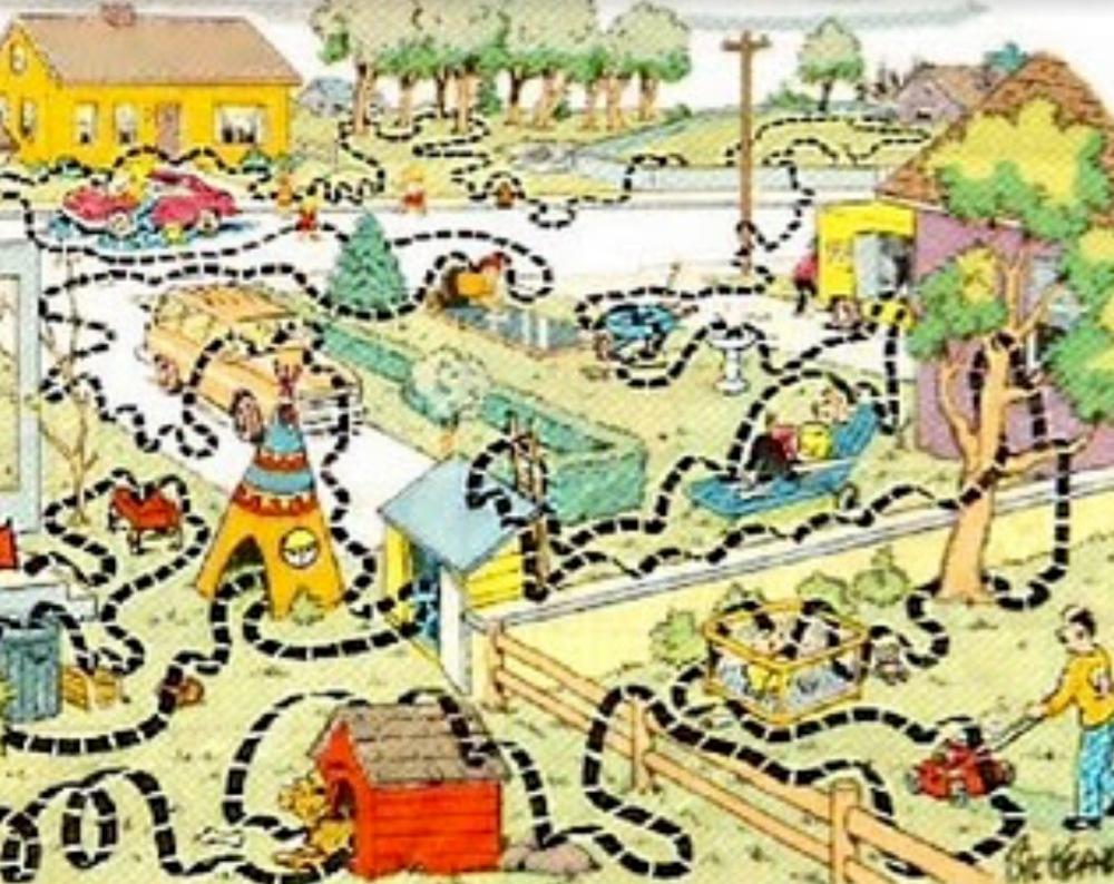 Family circle cartoon